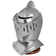 Armet  Helmet  With  Stand
